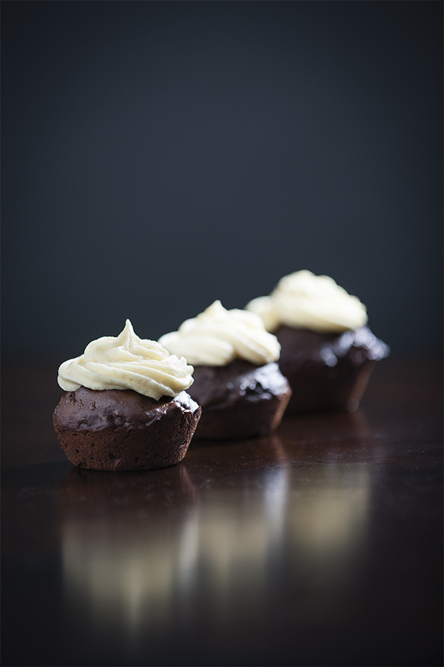 Chocolate Black Bean Cupcakes