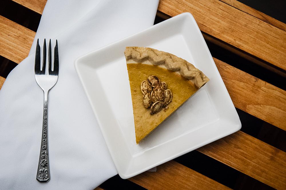Cardamom Pumpkin Pie