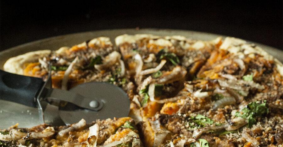 Sweet Potato Onion Pizza