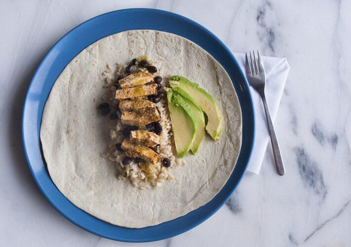 JessBeeCreates Tofu Burrito