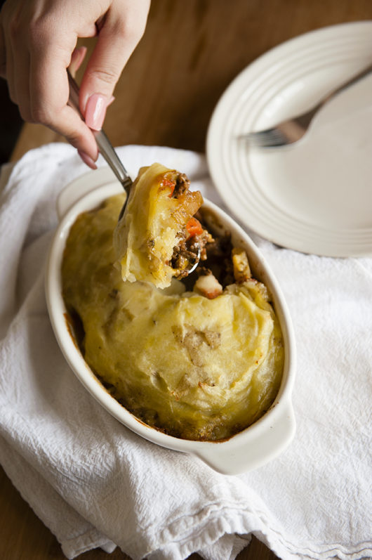 Shepherd's Pie with Caramelized Bacon Recipe