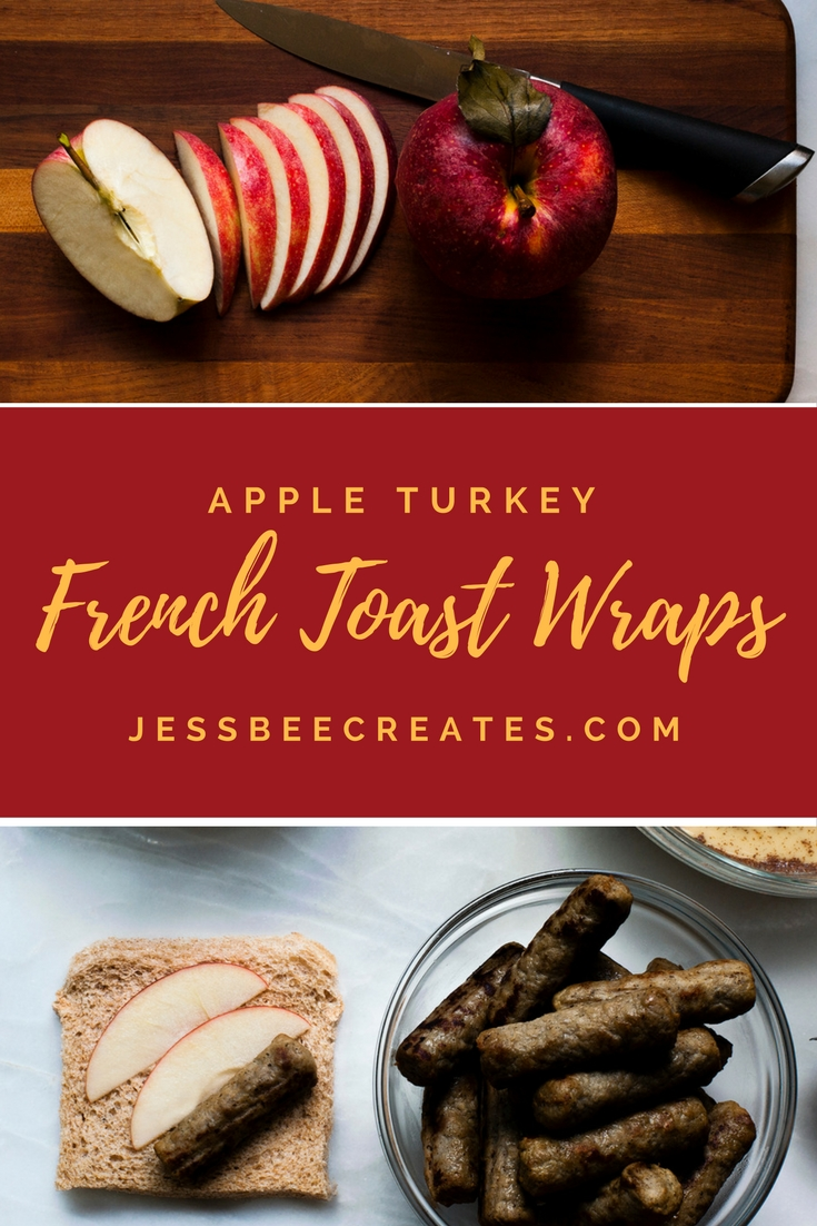 Apple Turkey French Toast Wraps