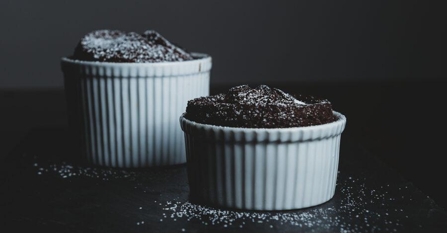 Easy Vegan Chocolate Lava Cake