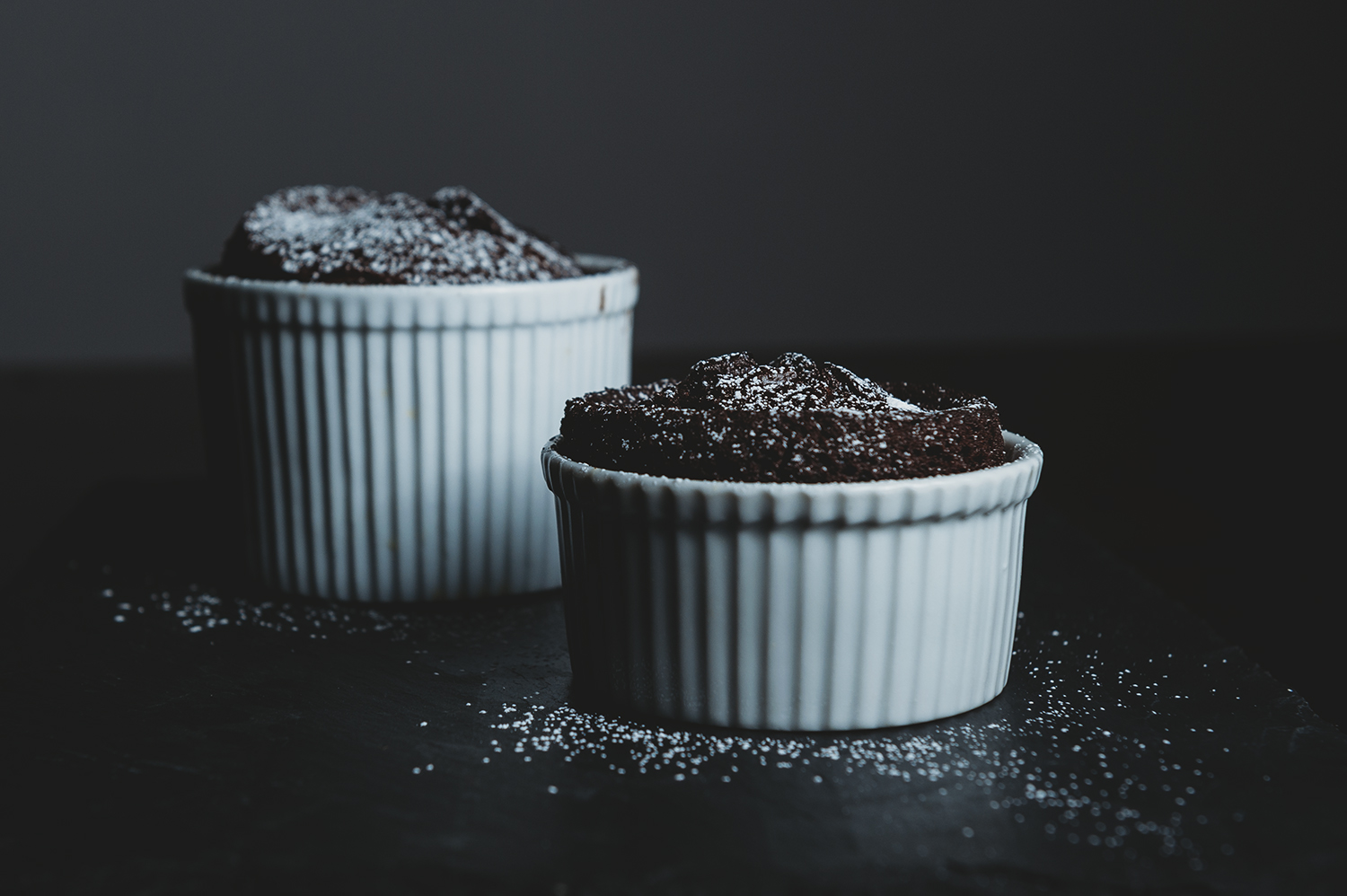 Easy Vegan Chocolate Lava Cake