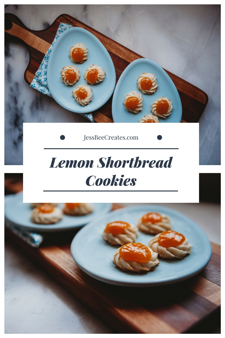 Lemon Shortbread Cookie Recipe