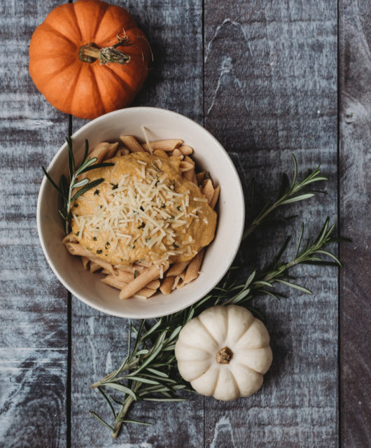 Rosemary Pumpkin Alfredo Recipe