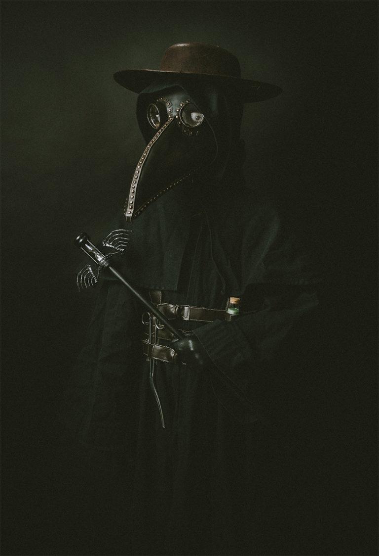 Plague Doctor Costume Cosplay Renaissance Faire