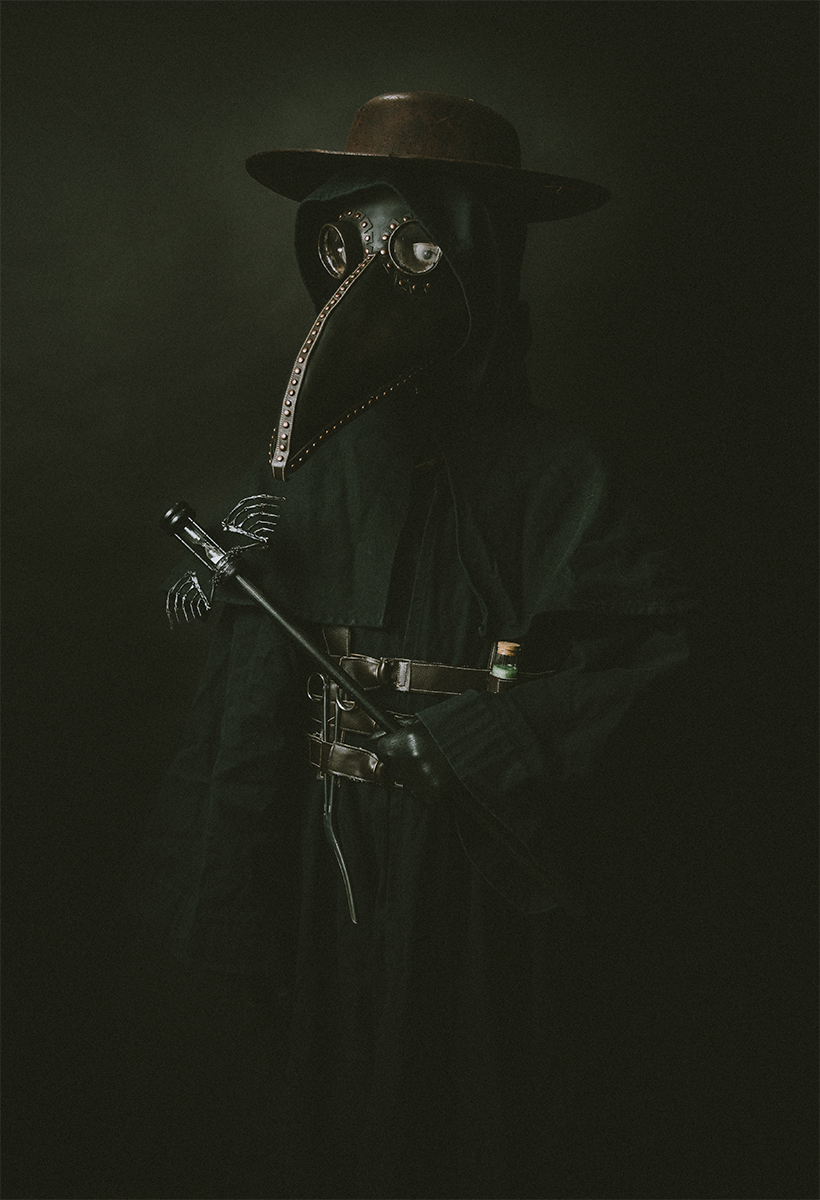 Plague Doctor Costume Cosplay Renaissance Faire