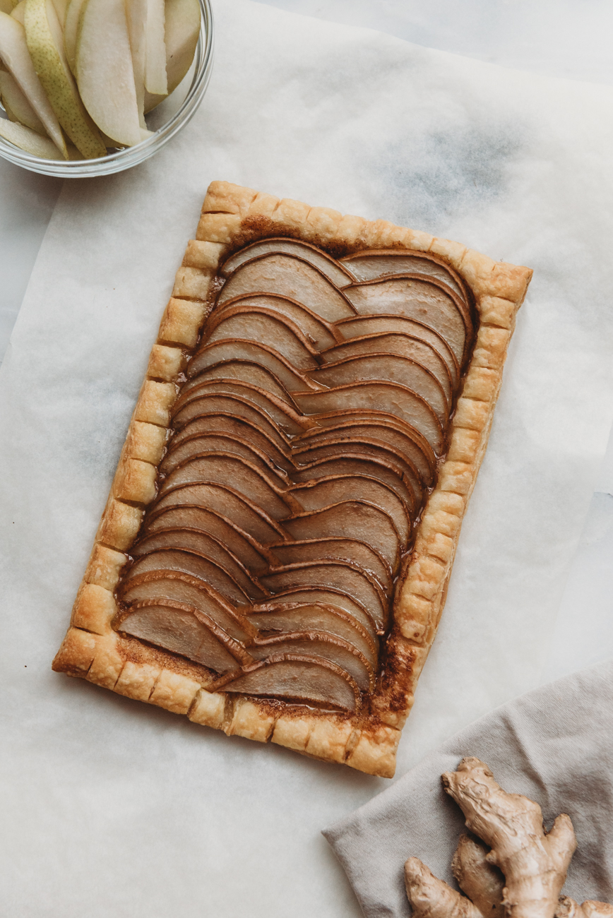 Pear Ginger Tart Recipe