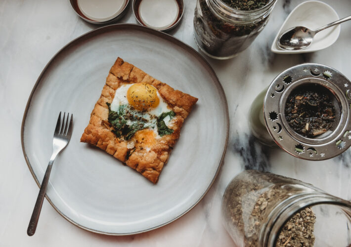Puff Pastry Egg Bake Recipe