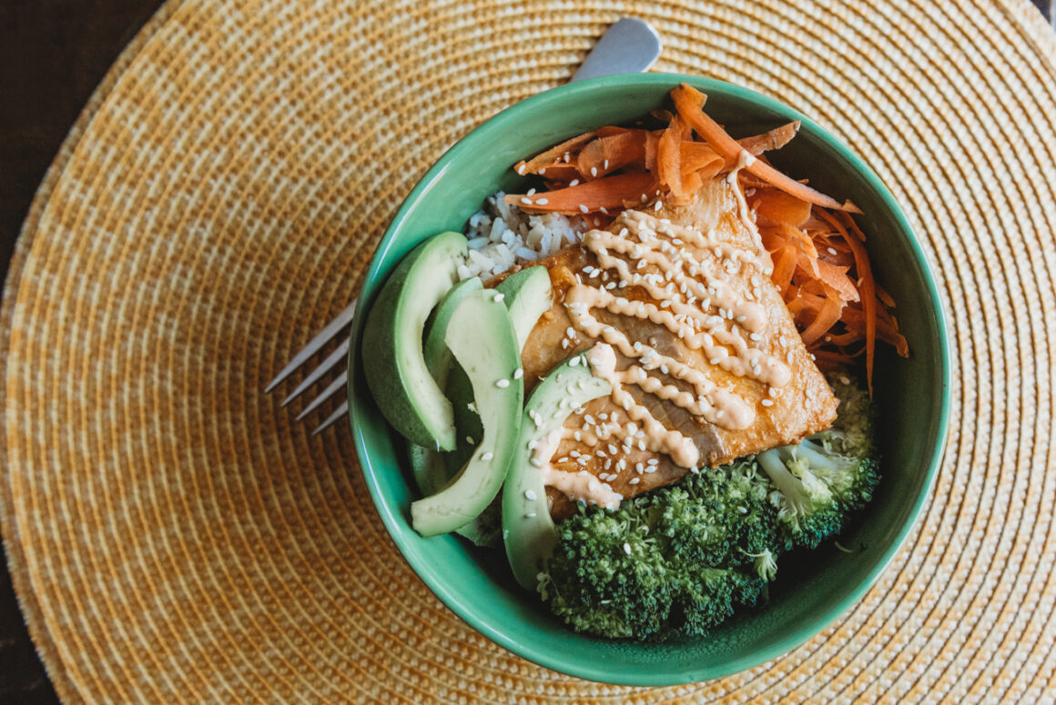 Spicy Salmon Bowl Recipe