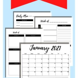 Free 2021 Calendar and Planner…